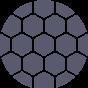 logo matière métallique